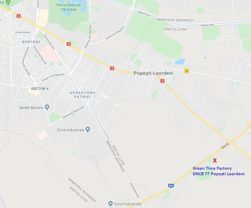 Poziţionare pe hartă